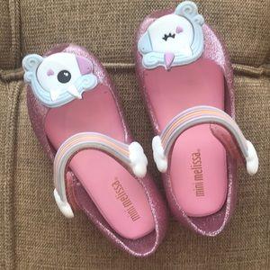 Other - Mini Melissa Unicorn Shoes Toddler Size 7